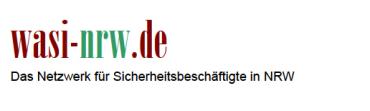 wasi-nrw.de, Wach- und Sicherheitsgewerbe NRW, Besondere Dienstleistungen NRW,
