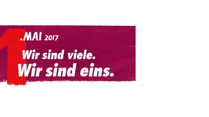 1. Mai 2017 - Wir sind viele, Wir sind eins, Besondere Dienste NRW,