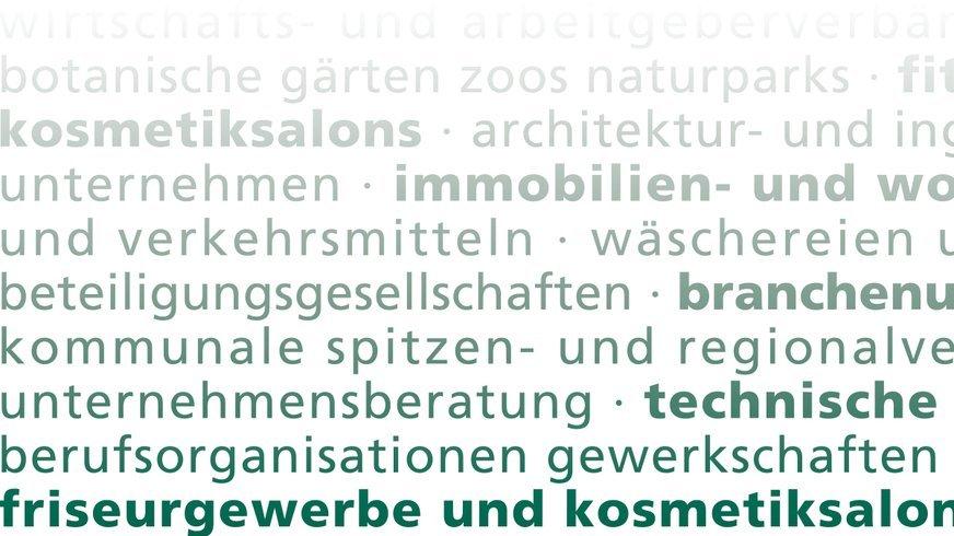 Branchen, Besondere Dienste NRW,