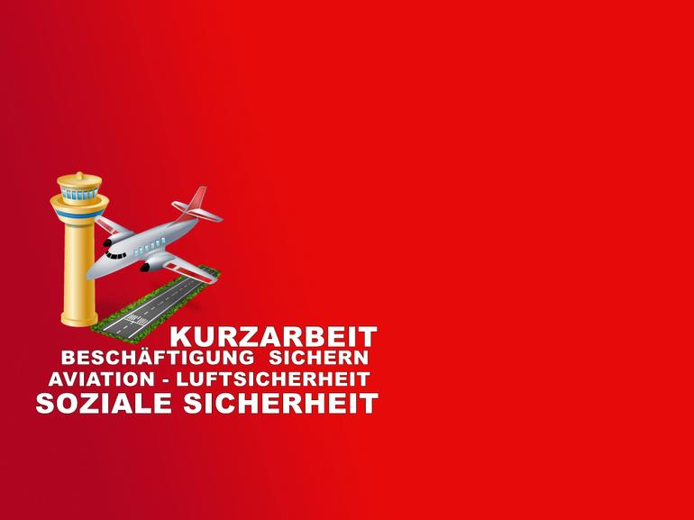 Kurzarbeit, Luftsicherheit NRW, Besondere Dienste NRW, Wach- und Sicherheitsgewerbe, Soziale Sicherheit, Aviation,