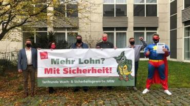 Wach- und Sicherheitsgewerbe NRW, Tarifrunde 2021, Besondere Dienste NRW,