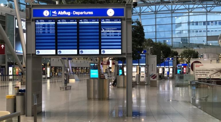 Aviation, Luftsicherheit NRW, Abflughalle, Besondere Dienste NRW,
